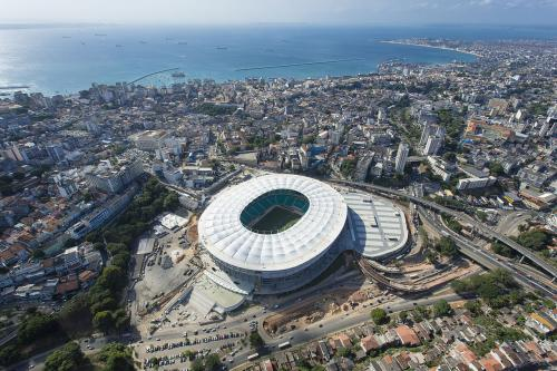 Itaipava Arena, le stade de Salvador où les Bleus disputeront une rencontre