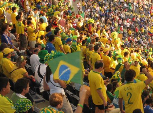 Supporteurs brésiliens