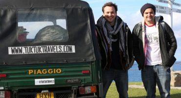 Le voyage autour du monde de Nick and Rich en « Tuk Tuk »