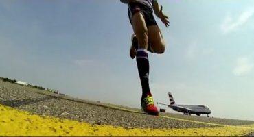 Si vous courez plus vite que l'A380…