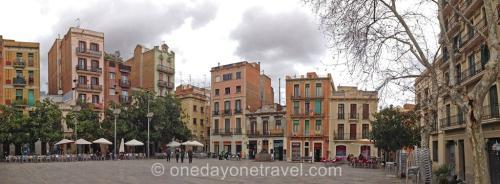 Plaza del Sol dans le quartier Gracia à Barcelone