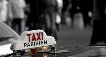 Manifestation des taxis parisiens lundi 13 janvier