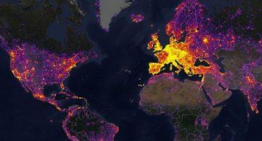 Découvrez une cartographie des sites les plus photographiés au monde