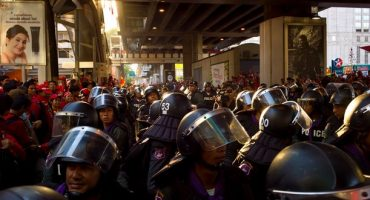 Avis d'instabilité politique en Thaïlande