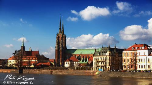 Wroclaw, la ville où Piotr pose ses valises entre deux voyages