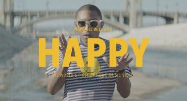 Un tour du monde «Happy» avec Pharrell Williams