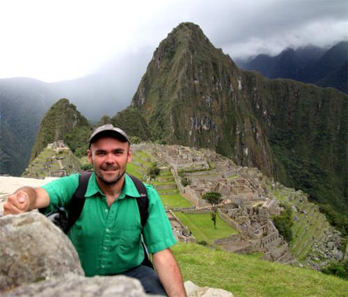 Fabrice au Machu Picchu