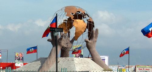 haiti-globe