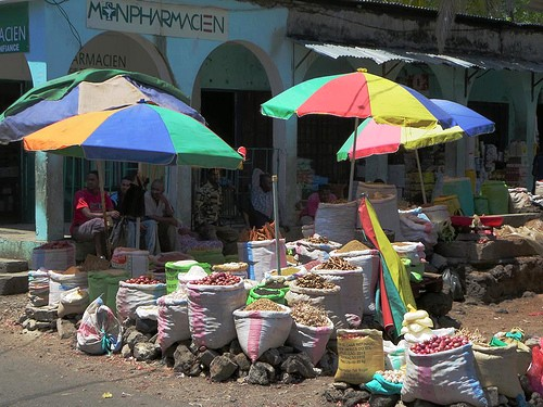 comores - parasols