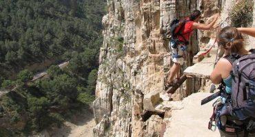 El Camino del Rey en Espagne : le sentier le plus effrayant au monde ?