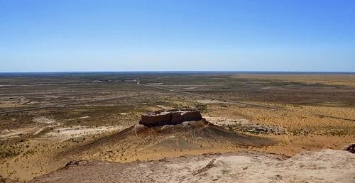 Le désert du Kyzylkoum en Ouzbékistan (Photo : Prashant Ram / Flickr cc)