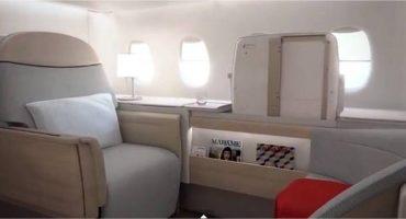 Air France présente un nouveau siège pour ses riches clients