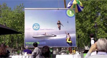 Vidéo – Transavia signe une campagne de com' renversante