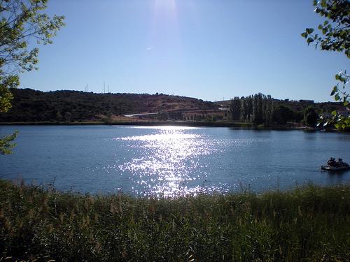 Les lacs de Ruidera