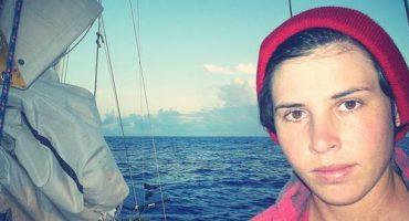 Emily, 29 ans, seule sur son bateau autour du monde