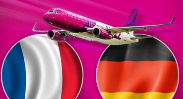 Des réductions Wizzair à l'occasion du match France Allemagne