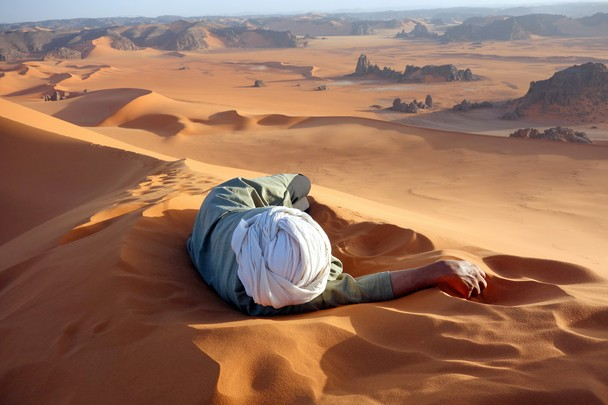 Repos au Sahara National Geographic