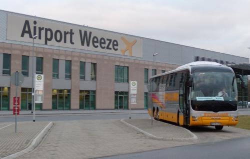 bus Weeze Airport