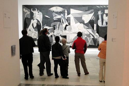 Guernica de Picasso au musée Reina Sofia.