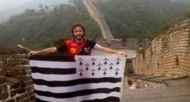 Insolite – Un fan de foot de Guingamp à Pékin