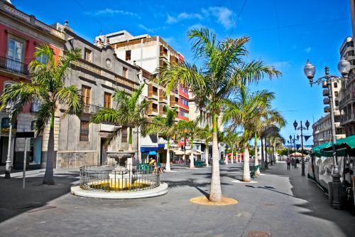 la vieille ville de Santa Cruz de Tenerife