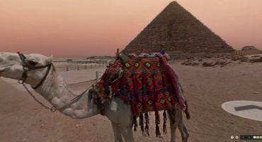 Promenade dans les pyramides égyptiennes avec Google Street View
