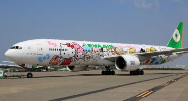 L'avion Hello Kitty d'EVA Air bientôt à Paris