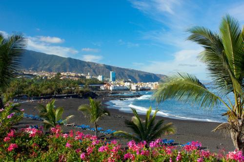 playa Jardin,Puerto de la Cruz, Tenerife