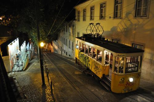Le funiculaire de Lisbonne