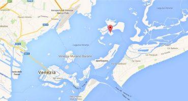 A vendre : petite île au large de Venise