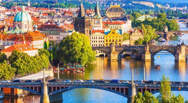Ponts de Prague, République Tchèque