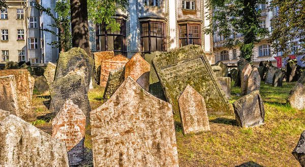 Prague cimetère juif