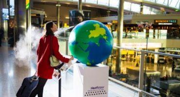 Sentir le monde à l'aéroport d'Heathrow