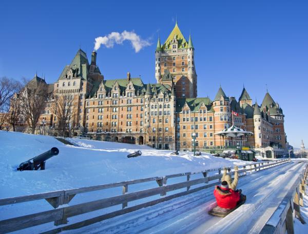 Quebec City en hiver