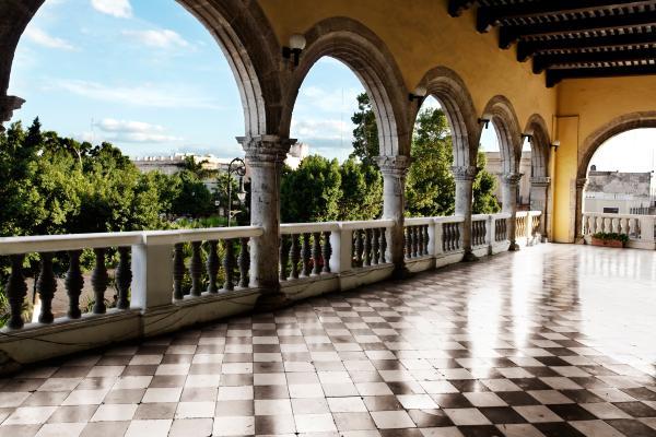 L'architecture coloniale espagnole à Merida
