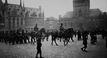 Sur les traces de la Grande Guerre à Bruges en images