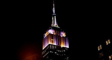L'Empire State Building habillé pour Noël