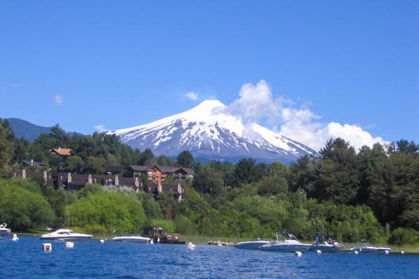 Le volcan Osorno