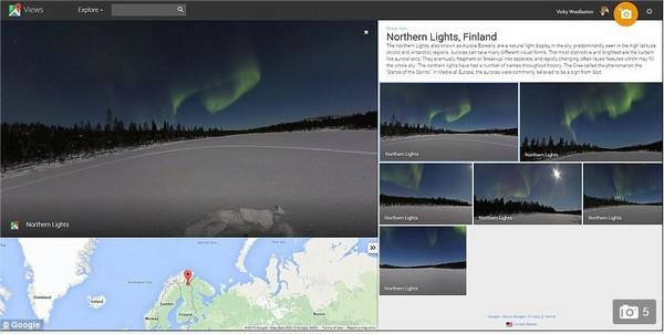 aurore boreale - google