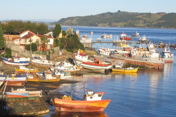 L'île de Chiloé, au sud du Chili