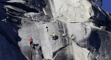 L'exploit vertigineux de deux alpinistes américains