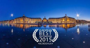 Bordeaux élue meilleure destination européenne 2015