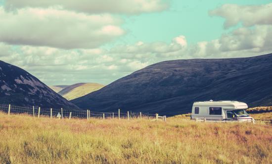 Camping car irlande