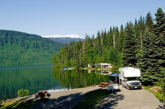 camping car Alaska