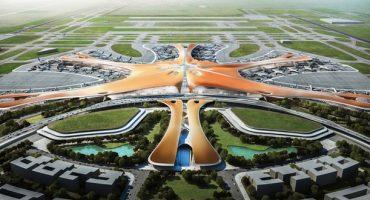 Un aéroport du futur à Pékin