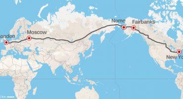 Road trip de Londres à New York en passant par la Russie