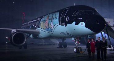 Un avion de Brussels Airlines en l'honneur de Tintin