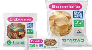 Des chips à la sauce Transavia