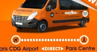 Rejoignez Roissy CDG pour 2 euros avec easyBus !