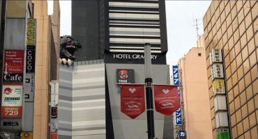 Godzilla, nouvel ambassadeur du tourisme à Tokyo